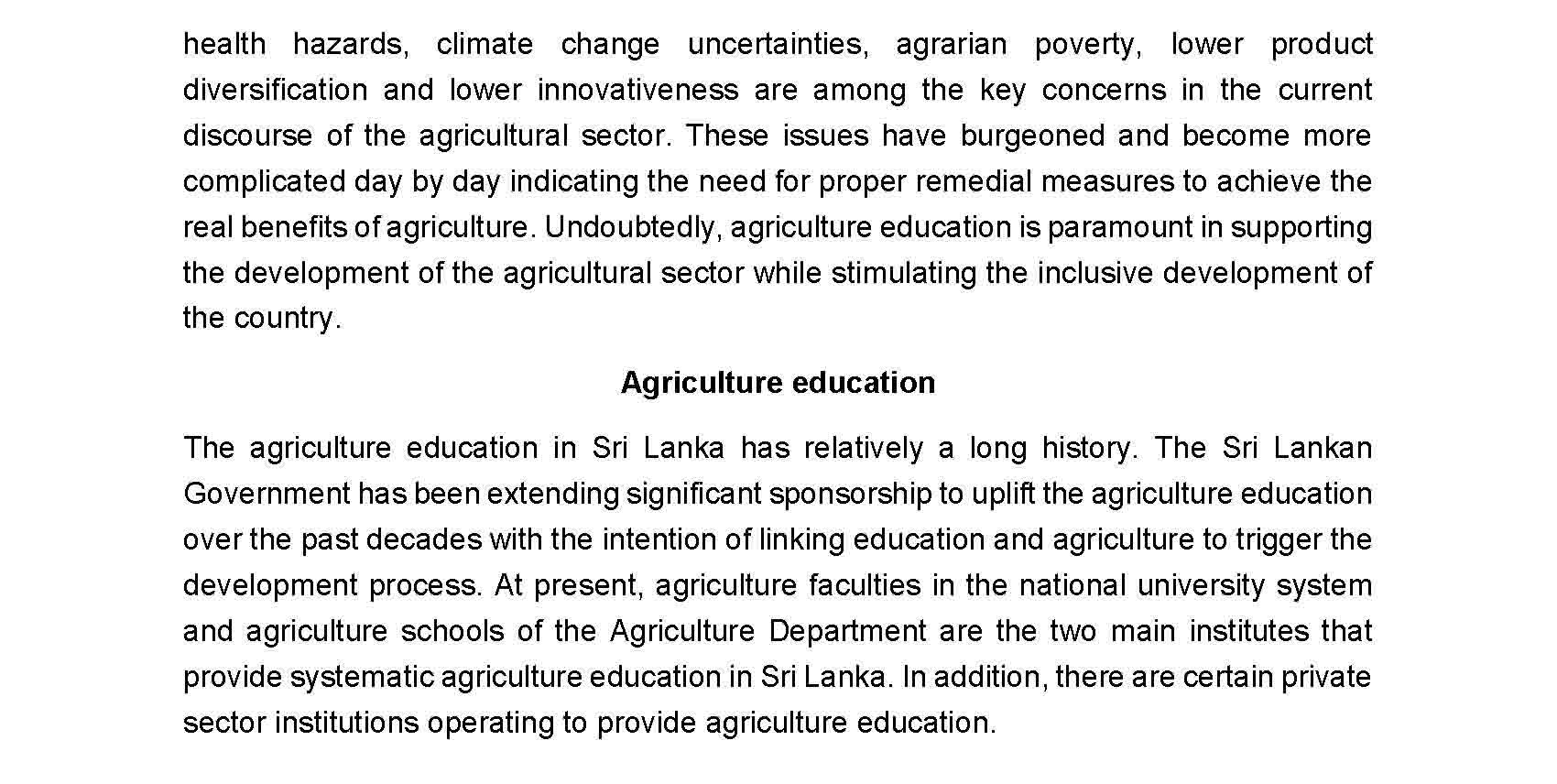 Motivating agriculture graduates with entrepreneurship opportunities Page 2
